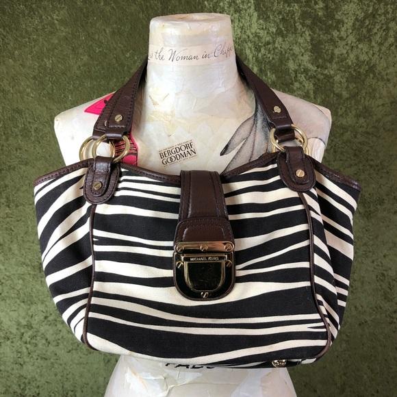 Michael Kors Handbags - Michael Kors zebra print bag
